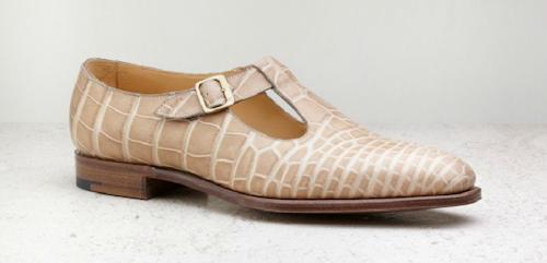 Edward Green alligator sandal.png