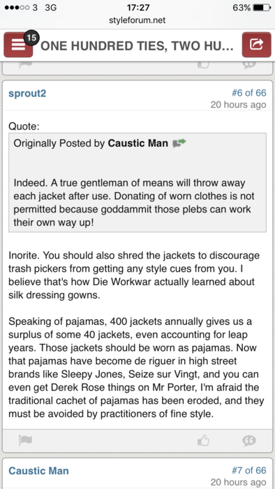 your take on dieworkwear shill or enthusiast page 6