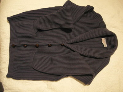 Ballantyne 6 ply cashmere shawl neck.JPG