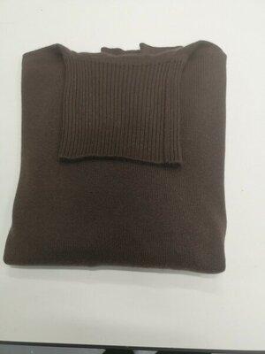 Berk cashmere turtleneck dark brown 3 ply.jpg