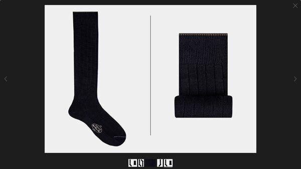Gallo wool socks - blue.jpg